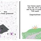 Greeting Cards Sarcastic Graduation Cards 037
