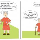 Greeting Cards Sarcastic Thanksgiving Cards 040