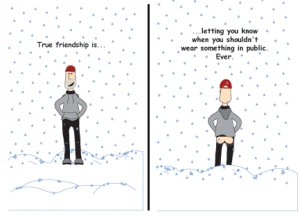 Greeting Cards Sarcastic Friendship Cards 052