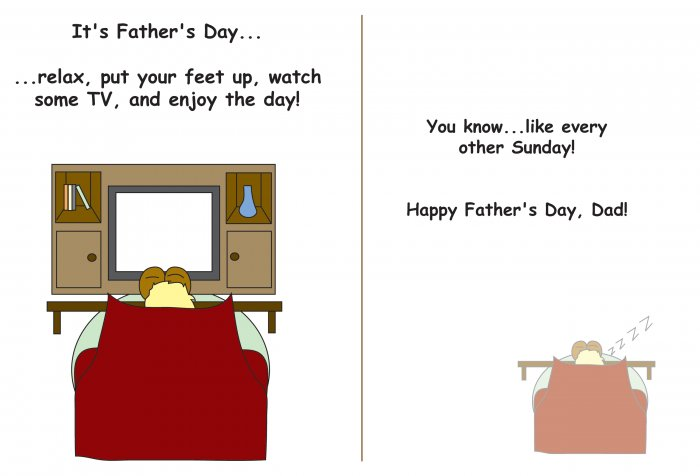 Greeting Cards Sarcastic Father's Day Cards 056