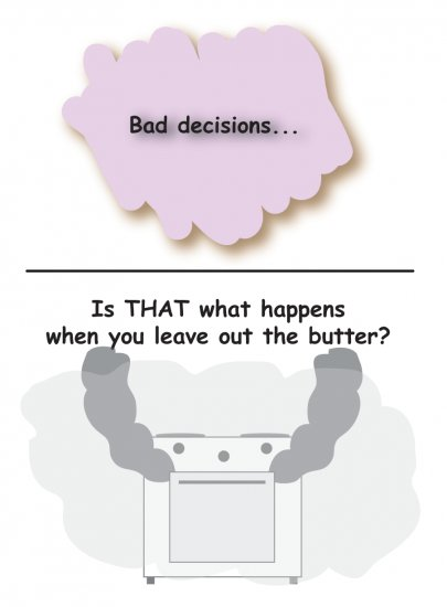 Greeting Cards Sarcastic Bad Decisions Cards 066