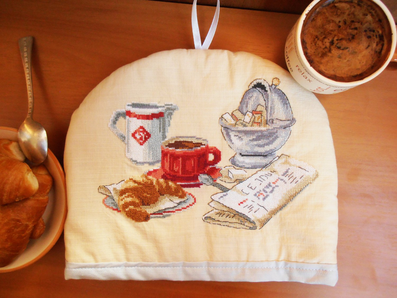 Kitchen decoration, made in ukraine, rustic dinnerware, teapot warmer, tea pot cover