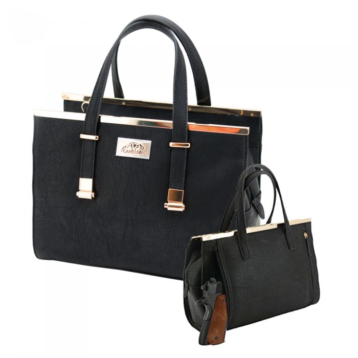 Cora Concealed Carry BLACK Purse free shipping