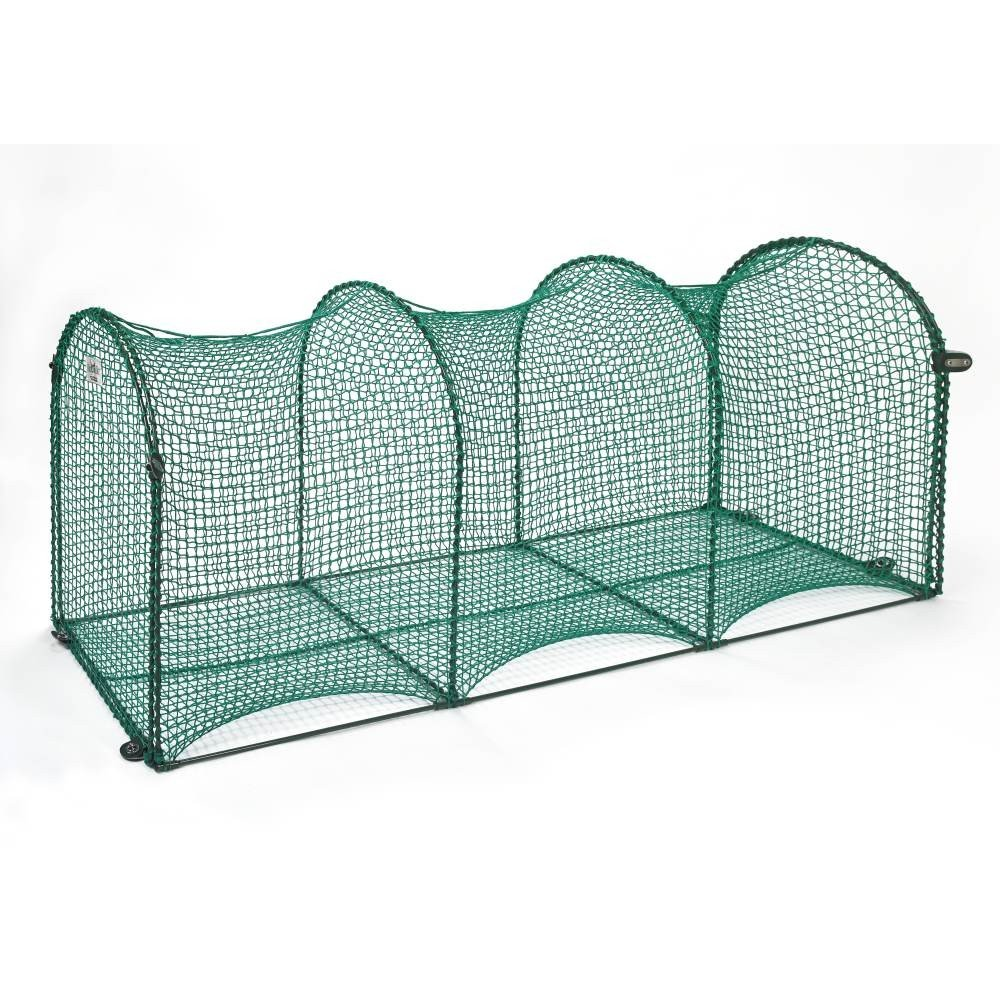 Kittywalk Deck and Patio 6 ft x 18 x 24 Cat containment outside
