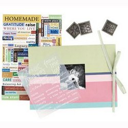 Family - Making Memories Mini Book Kit 5x7