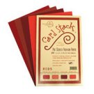 "Reds - Card Stacks 5.5"" x 8.5"" - Die Cuts with a View"
