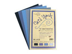 "Blues - Card Stacks 5.5"" x 8.5"" - Die Cuts with a View"