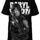 Daryl Walking Dead T-shirt Pringting Fashion Men Shorts Sleeves Tee Shirt Summer Clothing