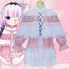 Anime Kobayashi-san Chi no Maid Dragon Kanna Dress Adult Women Halloween Carnival Cosplay Costume