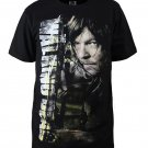 The Walking Dead DARYL Printing Cotton T shirt Adult Men Summer Clothing
