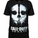 Call of Duty Ghosts Printing Cotton T-shirt Men Fashion Clothing