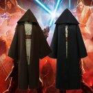 Star Wars Jedi Knight Obi- Wan Kenobi Darth Vader Mace Windu Tunic Robe Cosplay Costume