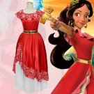 Elena of Avalor Elena Princess Fancy Dress Girls Adult Cosplay Costume