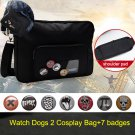 Game Watch Dogs 2 Marcus Holloway Cosplay Bag Halloween Cosplay Costume Accessories