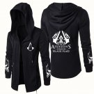 Darker Game Assassin's Creed Syndicate Coat Black Cosplay Jacket