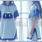 Overwatch Mei Robot Casual Dress Summer Hooded Hoodie Dress Comfortable Dresses