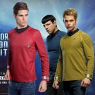 Star Trek Into Darkness Captain Kirk/Spock Shirt Badge Uniform Dress Cosplay Costume Red Version
