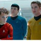 Star Trek Into Darkness Captain Kirk/Spock Shirt Badge Uniform Dress Cosplay Costume Blue Version