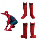 Spiderman Boots cosplay shoes Superhero Accessories spider-man homecoming Spider-Man red boots