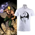 Iron Fist Daniel Rand T shirt Superhero Cosplay O-Neck Printing Short Sleeve Tee Shirts
