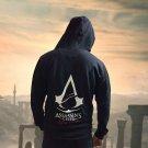 Assasins Creed Hoodie Men Black Cosplay Sweatshirt Costume Assassins Creed Mens Hoodies Jackets