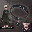 Game NieR:Automata Costumes Prop YoRHa No. 9 Type S 9S Cosplay Necklace Unisex Accessory Black