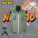Naruto Cosplay Costume Japanese Anime Ninja Coat shinobi Kakashi Cosplay Vest