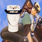 Overwatch Cosplay Hat D.Va Offier Cosplay Hat Accessories Hanna Song Women Police Uniform Hat Cap