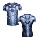 Oveewatch Gegji Skin Cosplay Tee Short Sleeve Shirts Quick-dry Material Top Tees