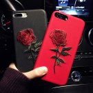 Creative new apple X embroidery phone case with iphone case