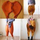 Fried chicken pants European and American new big size women's wear pants baggy pants  add s-5xl