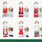 Christmas decorations Santa Claus aprons and Santa Claus aprons with cute aprons festival costume