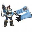Overwatch Mei Cosplay Gloves Halloween Costume Accessories