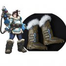 Overwatch Mei Cosplay Shoe Covers Halloween Costume Boot Covers Accessories