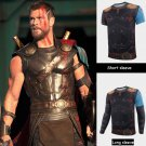Thor 3 Ragnarok Thor Odinson Superhero Cosplay T-Shirts Mens Casual O-Neck Tee Shirts Tops