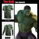 Thor 3 Ragnarok The Hulk Robert Bruce Banner Superhero Cosplay T-Shirts O-Neck Tee Shirts