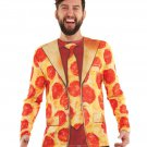 Casual Long Sleeve 3D Shirt Tee Pizza Bacon Print Shirt Top Suit
