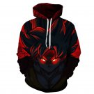 Anime Dragon Ball Strong Wukong Hooded Men 3D Print Sweatshirt Plus Size Pullover Streetwear Hooded