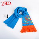 The Legend of Zelda Hailar Warriors Blue Orange Scarf Women Men Unisex Xmas Gift For Fan