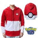 Pokemon Go Poke Ball Hoodies With Ears For Women Men Cosplay Costume Hoodie Sweatshirt