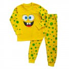 Hot SpongeBob Cotton Fabric Scalable Cartoon Soft Homecoming Pajamas Children Sleepwear