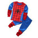 New arrival spiderman kids boy pijama menino infantil pyjama toddler pajamas for boys
