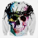 3D Hoodies Men Hooded Sweatshirts Skull 3D Print Casual Unisex Pullovers Streetwear Tops