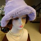The Marvelous Mrs. Maisel Fur Hat Women Vintage Purple Hats