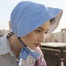 Women Vintage Hat Denim Blue Topee Victorian Lolita Hats