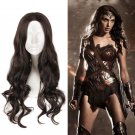DC Movie Wonder Woman Cosplay Props Wig Wigs Cap Long Curly hair
