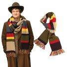 Dr Doctor Who Scarf Delxue Stripes Tom Baker Scarf Cosplay Costume Props 200cm*16