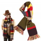 Dr Doctor Who Scarf Delxue Stripes Tom Baker Scarf Cosplay Costume Props 365*23cm