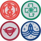 The Orville Security Engineering Medical Command Uniform Badge Brooch Pin Cosplay Accessories