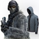 Call of Duty TF-141 Ghost Hoodie Down Jacket Uniform Cashmere Fleece Coat Cosplay Costume